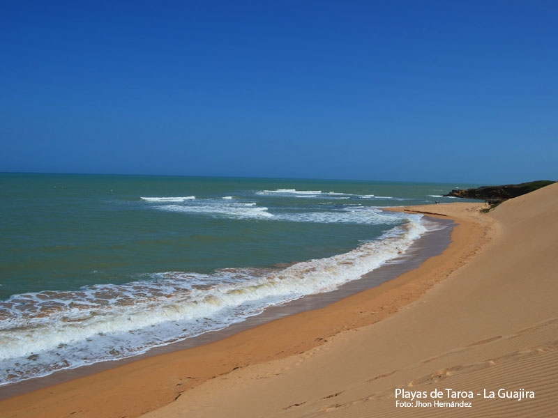 Playas de Taroa - La Guajira
