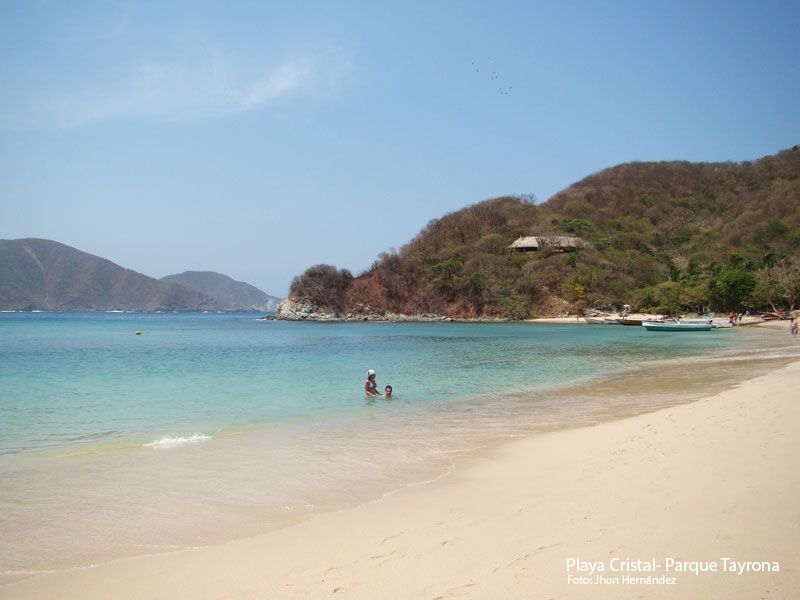 Playa Cristal - Parque Tayrona